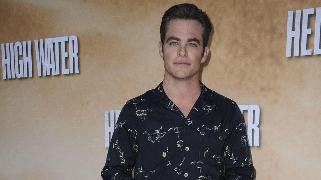 Chris Pine: Salzwasser in den Haaren