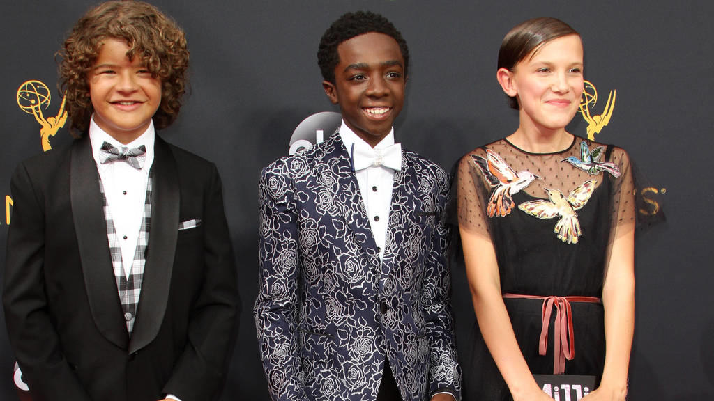 Gaten Matarazzo, Caleb McLaughlin und Millie Bobby Brown: Highlight auf dem Red Carpet