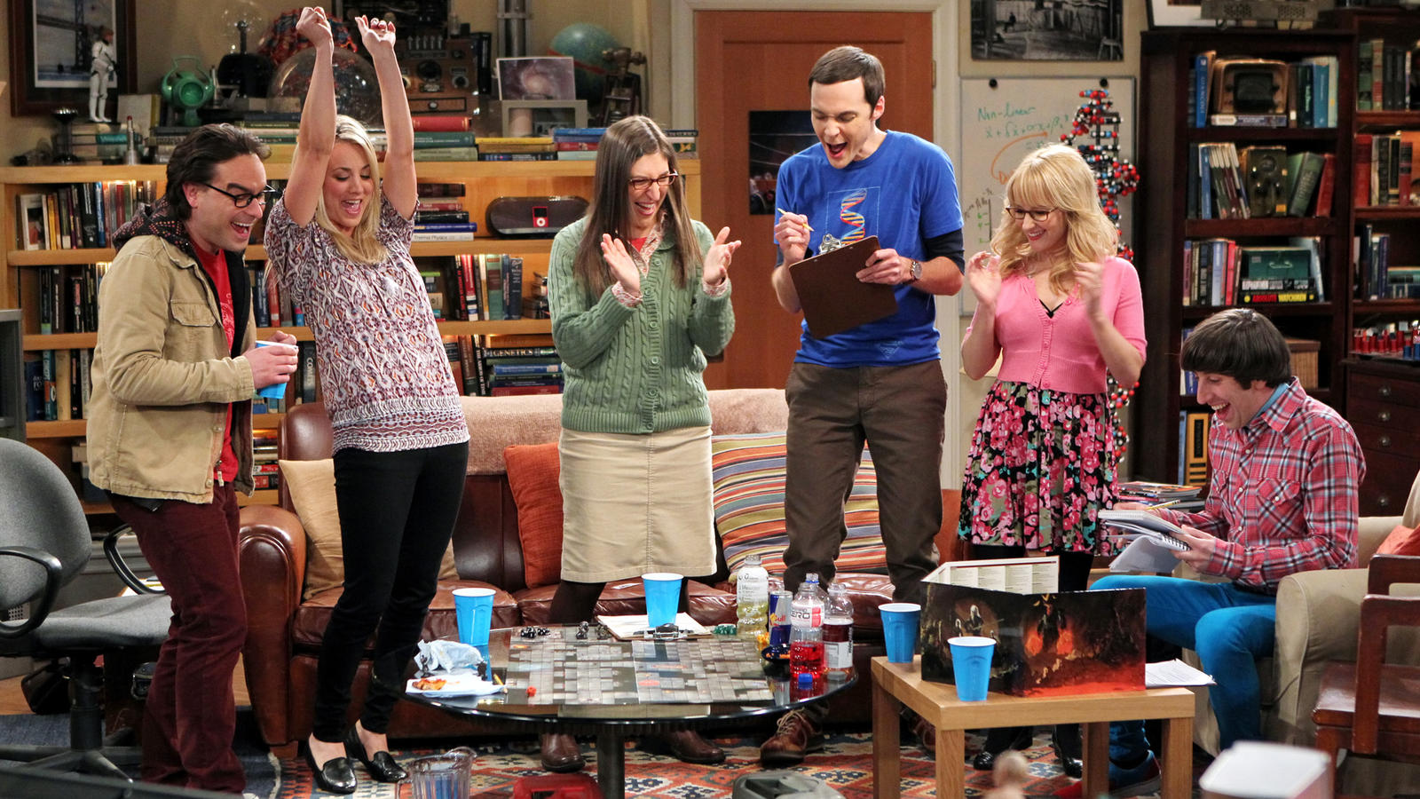 'Forbes'-Liste: 'The Big Bang Theory'-Stars kassieren groß ab.