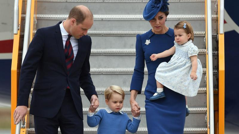Prinz William und Familie