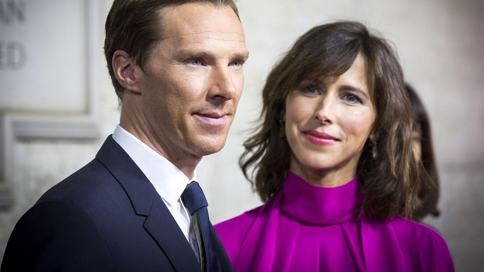 'Doctor Strange' Launch Event, Westminster Abbey, London, UKFeaturing: Benedict Cumberbatch, Sophie HunterWhere: London, United KingdomWhen: 24 Oct 2016Credit: Lexi Jones/WENN.com