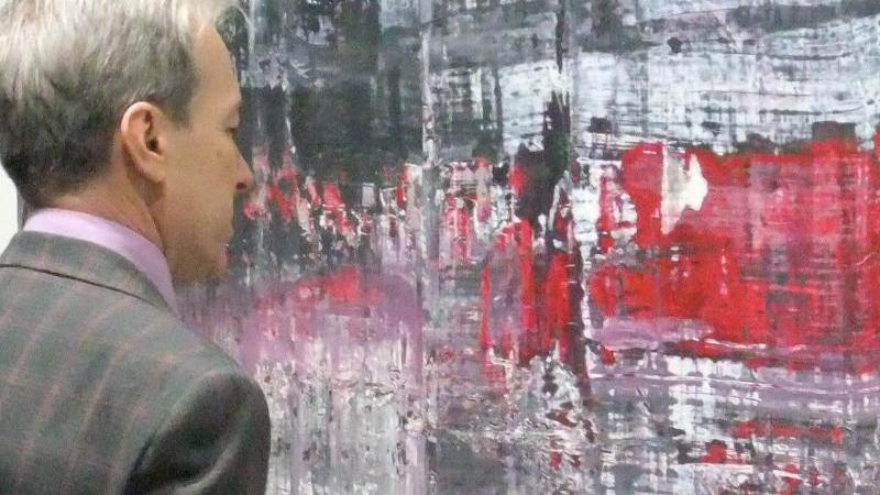 Gerhard Richter in Moskau