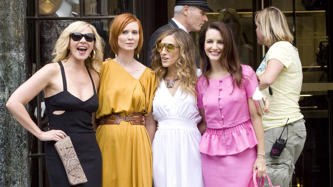 Kim Cattrall, Cynthia Nixon, Sarah Jessica Parker, Kristin Davison the set of 'Sex and the City 2' in ManhattanNew York City, USA - 08.09.09**Not available for publication in USA magazines.  Available for publication in US tabloids and the rest of th