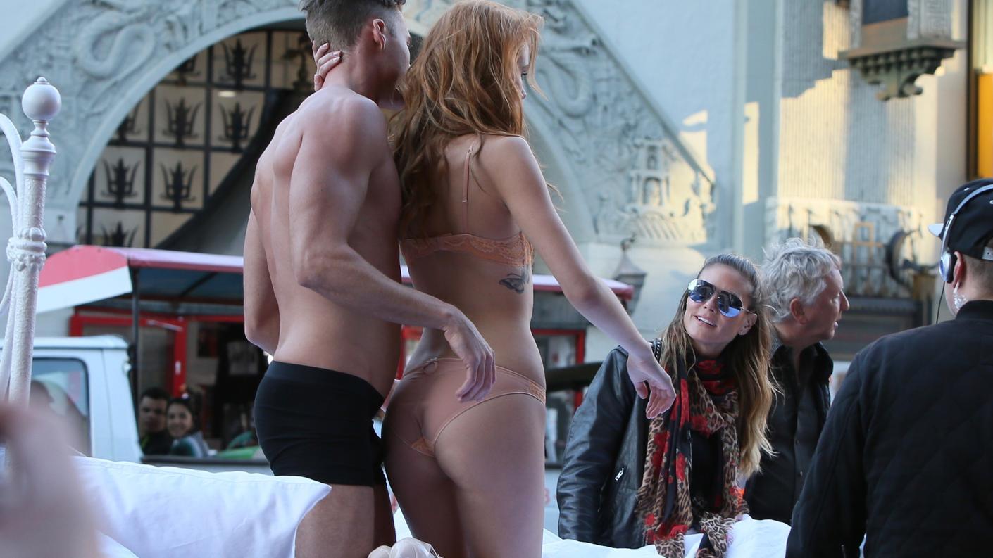 Germanys Sex Model Free Cum Fiesta