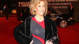 Jane Fonda versprüht Hollywood-Glamour
