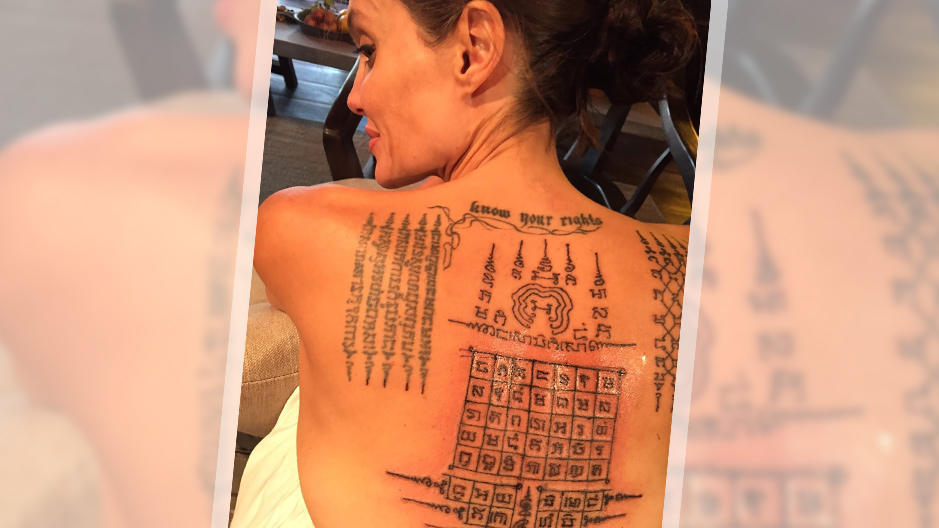 Angelina Jolie & Brad Pitt: Ehe-Tattoo