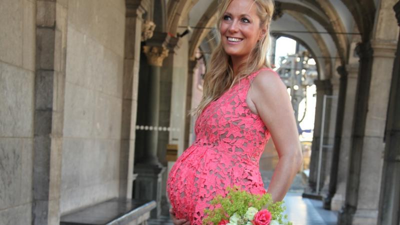 Angela Finger-Erben heiratete im Juni 2016 ihren Lebensgefährten in ...