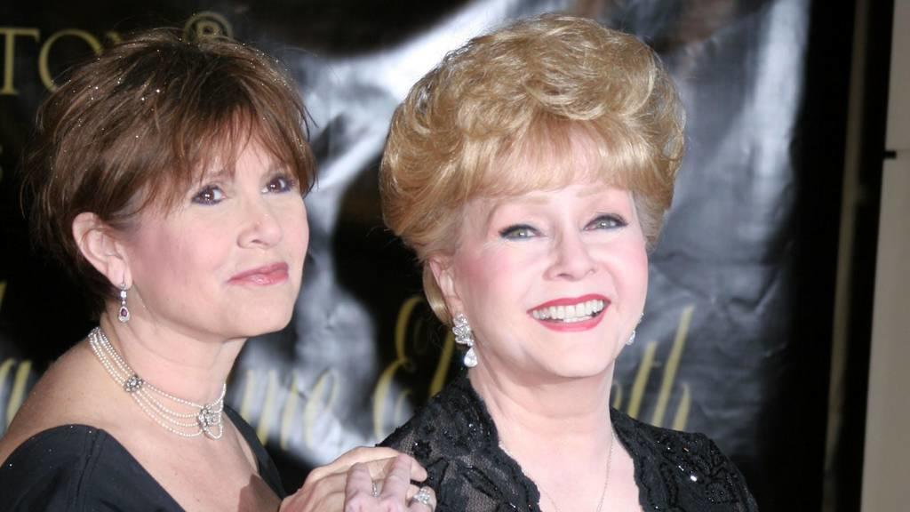 Gedenkfeier für Carrie Fisher und Debbie Reynolds