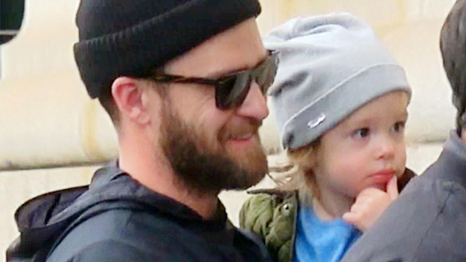 Justin Timberlake takes Silas to a friend's apartment in New York.