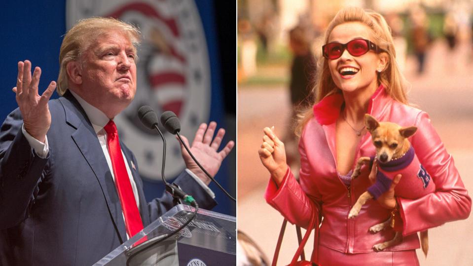 Rede von Witherspoon kopiert?: Trump gibt sich