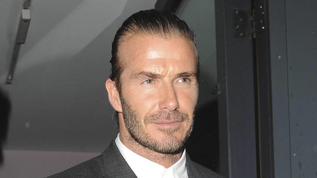David Beckham findet Kritik am Kuss an seine Tochter lächerlich