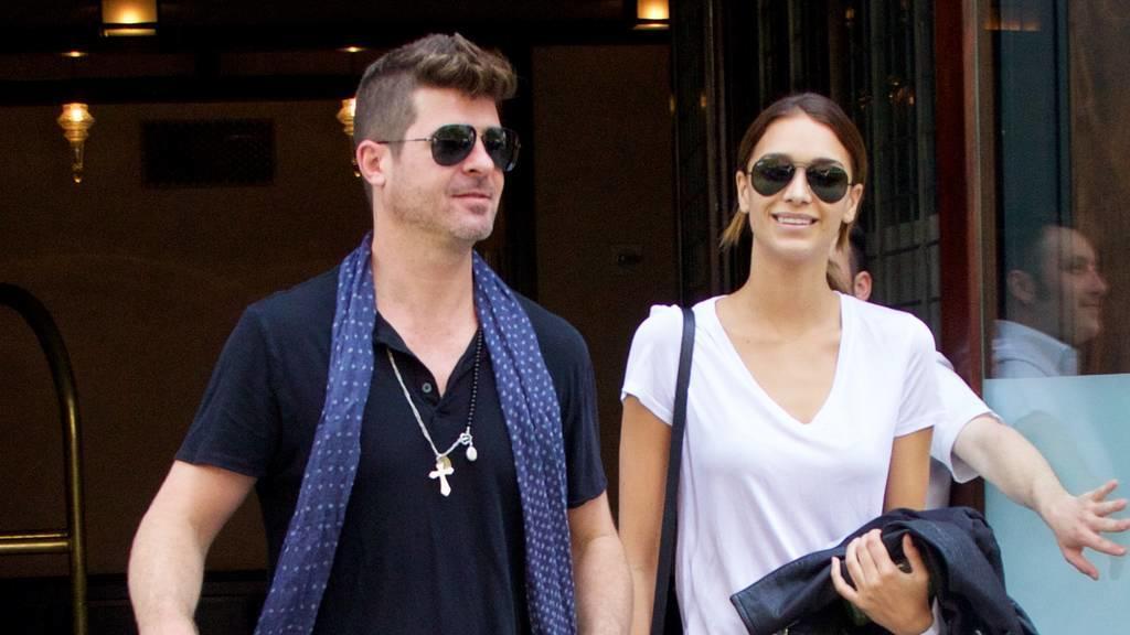 US-Sänger Robin Thicke und seine Freundin erwarten Nachwuchs