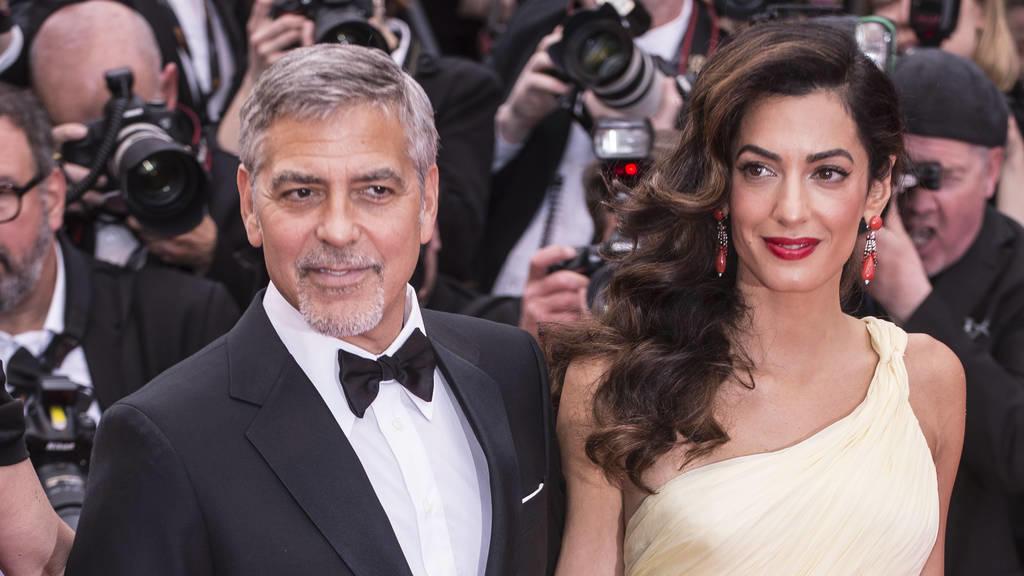 George und Amal Clooney: Kampf gegen Hass ist eine Million wert