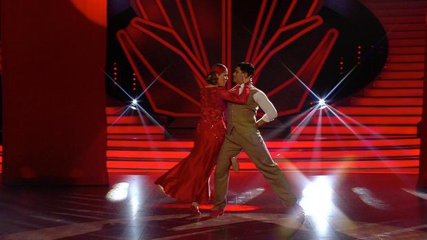 Victoria Swarovski & Erich Klann überzeugen mit einem Tango
