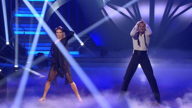 Gil Ofarim und Ekaterina Leonova bewegen mit Freestyle