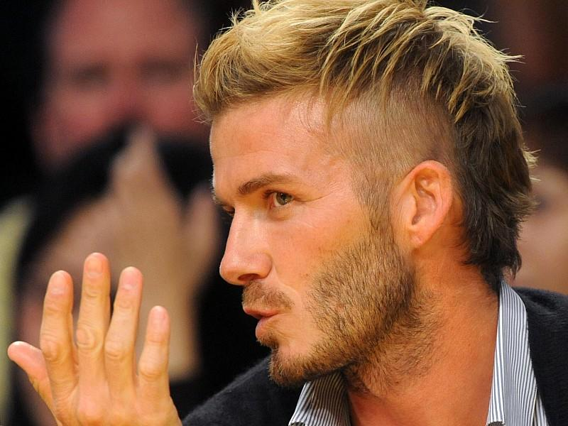Frisur David Beckham