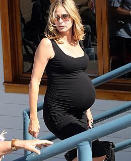 Heidi Klum Babybauch