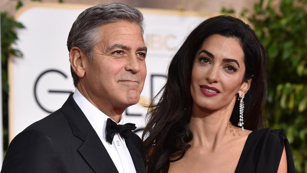 george clooney einen porsche zum geburtstag. Black Bedroom Furniture Sets. Home Design Ideas