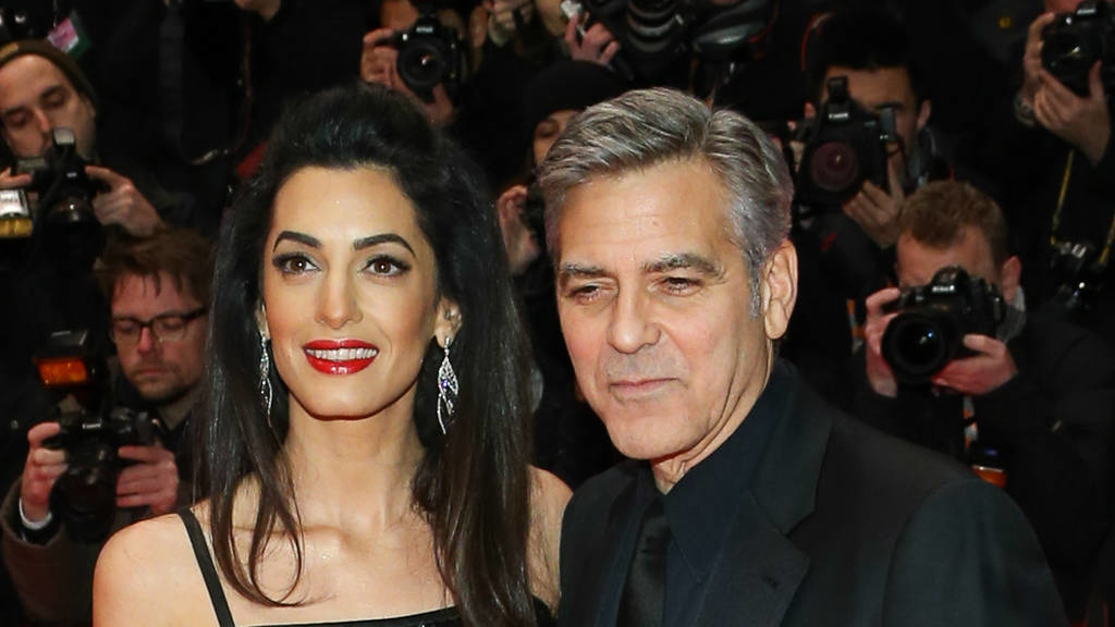 george clooney deshalb ist er mit ehefrau amal clooney so gl cklich. Black Bedroom Furniture Sets. Home Design Ideas