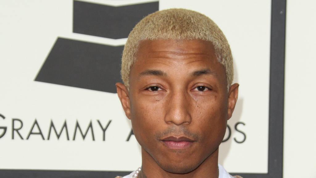 Pharrell Williams: Co-Vorsitzender der Met Gala 2017