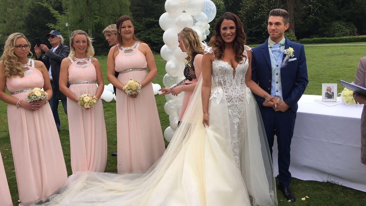 Joey Heindle hat geheiratet: So war die Hochzeitsfeier